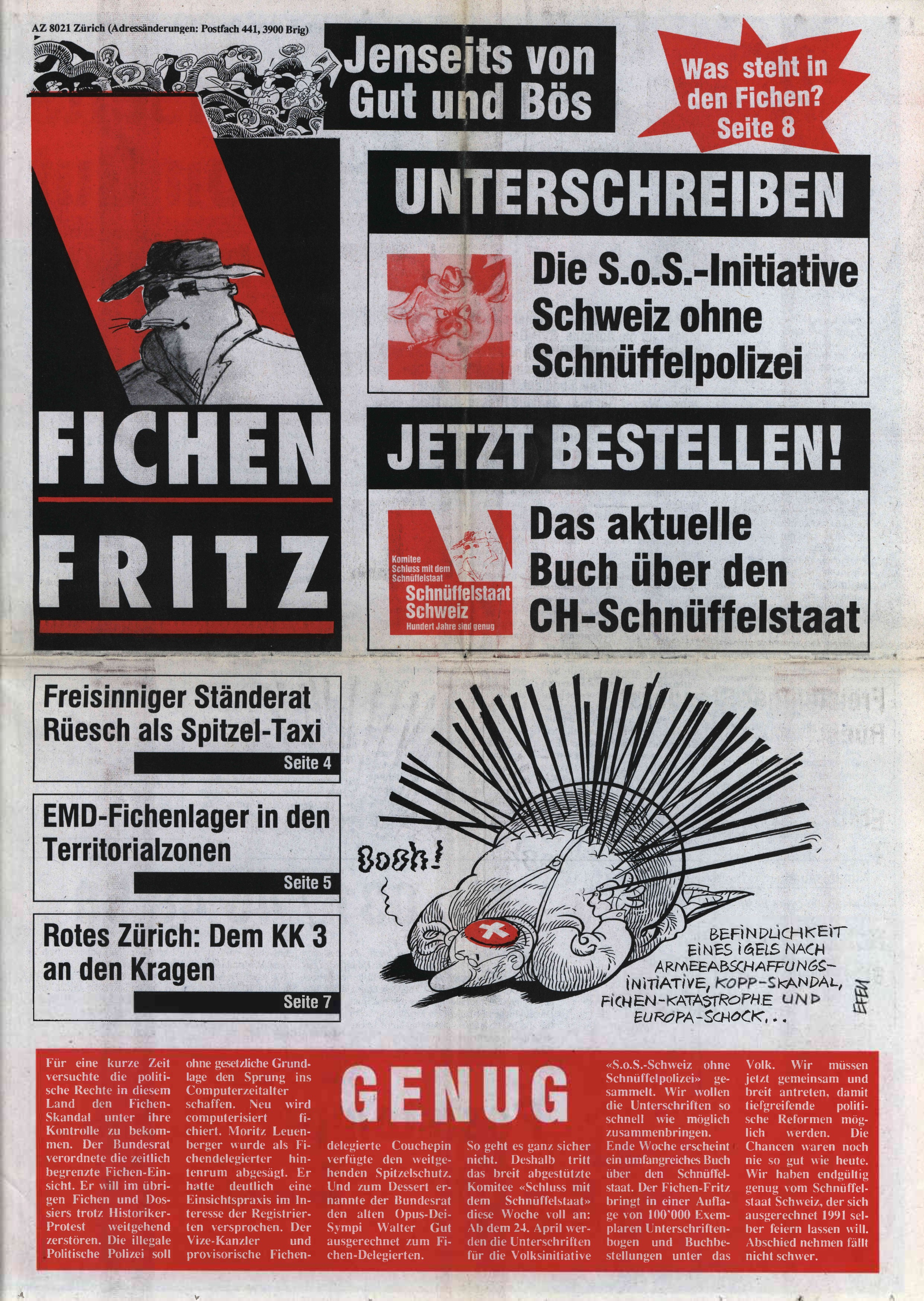 FICHEN FRITZ NR. 2 - SEITE 1