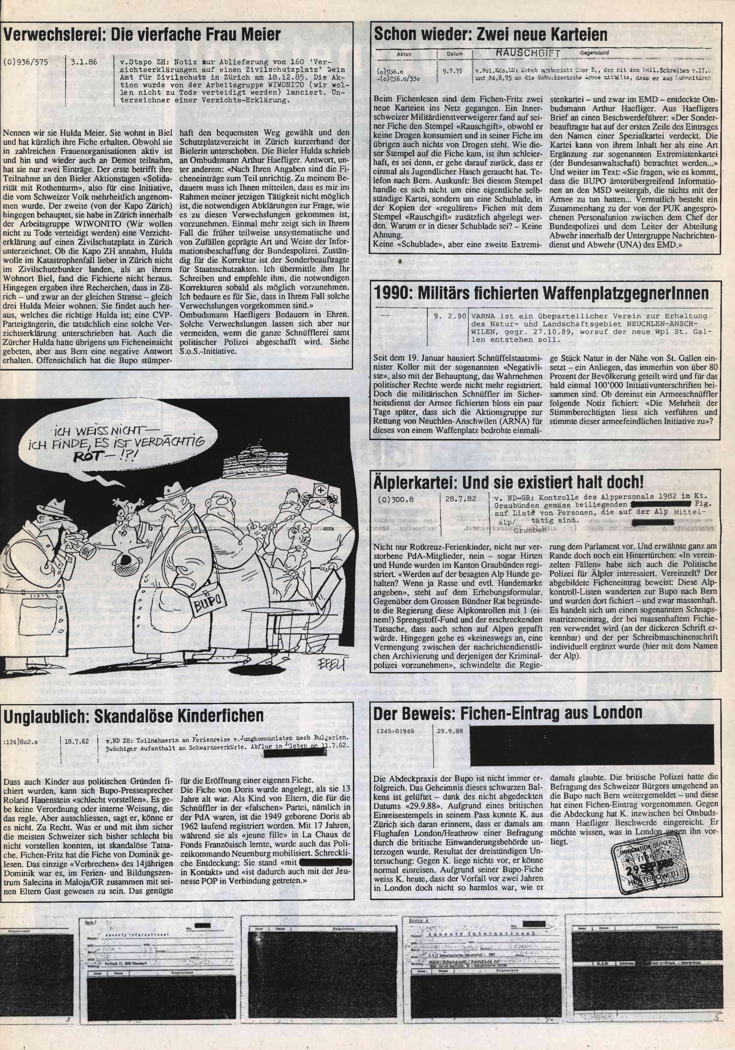 FICHEN FRITZ NR. 3 - SEITE 5