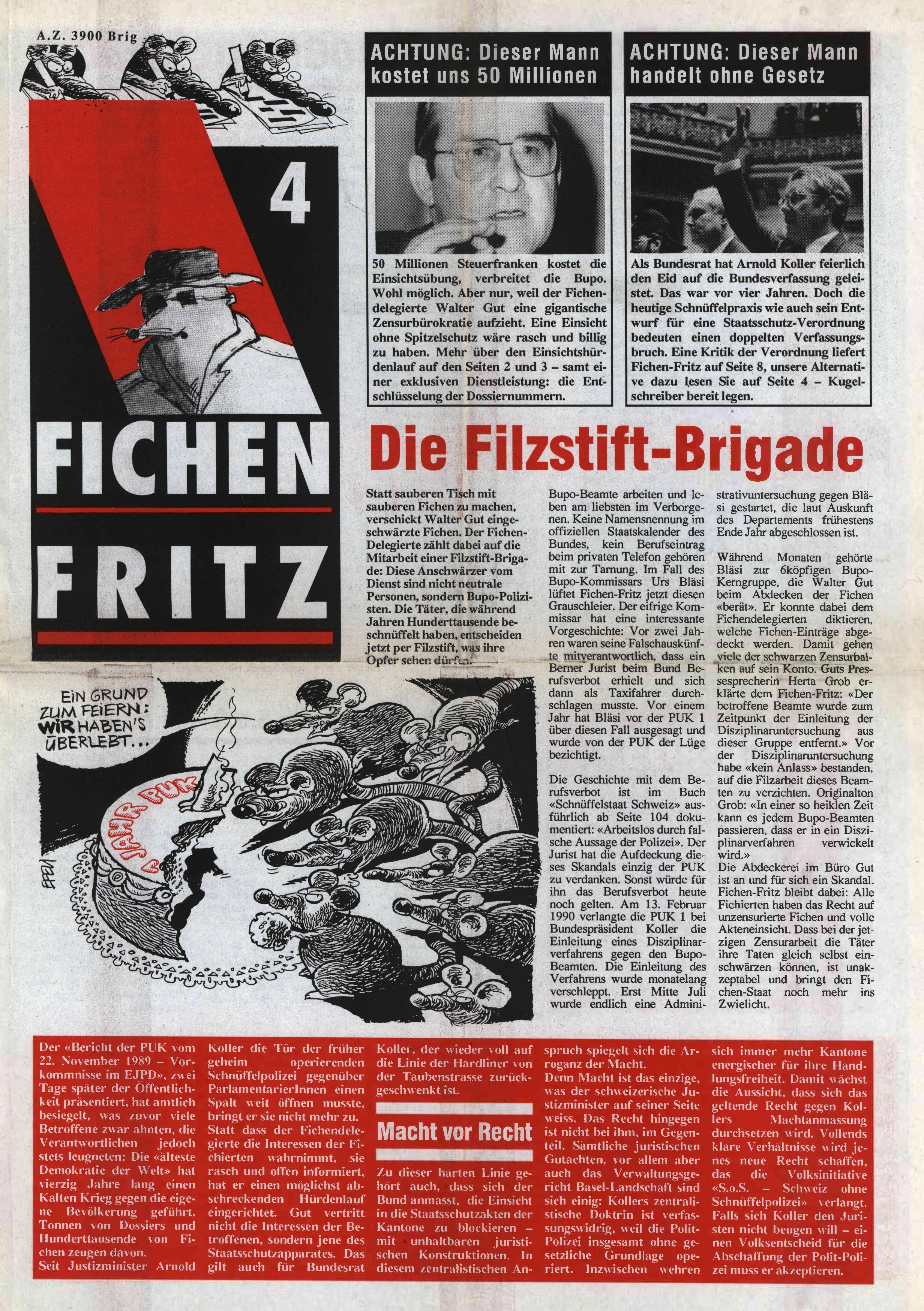 FICHEN FRITZ NR. 4 - SEITE 1