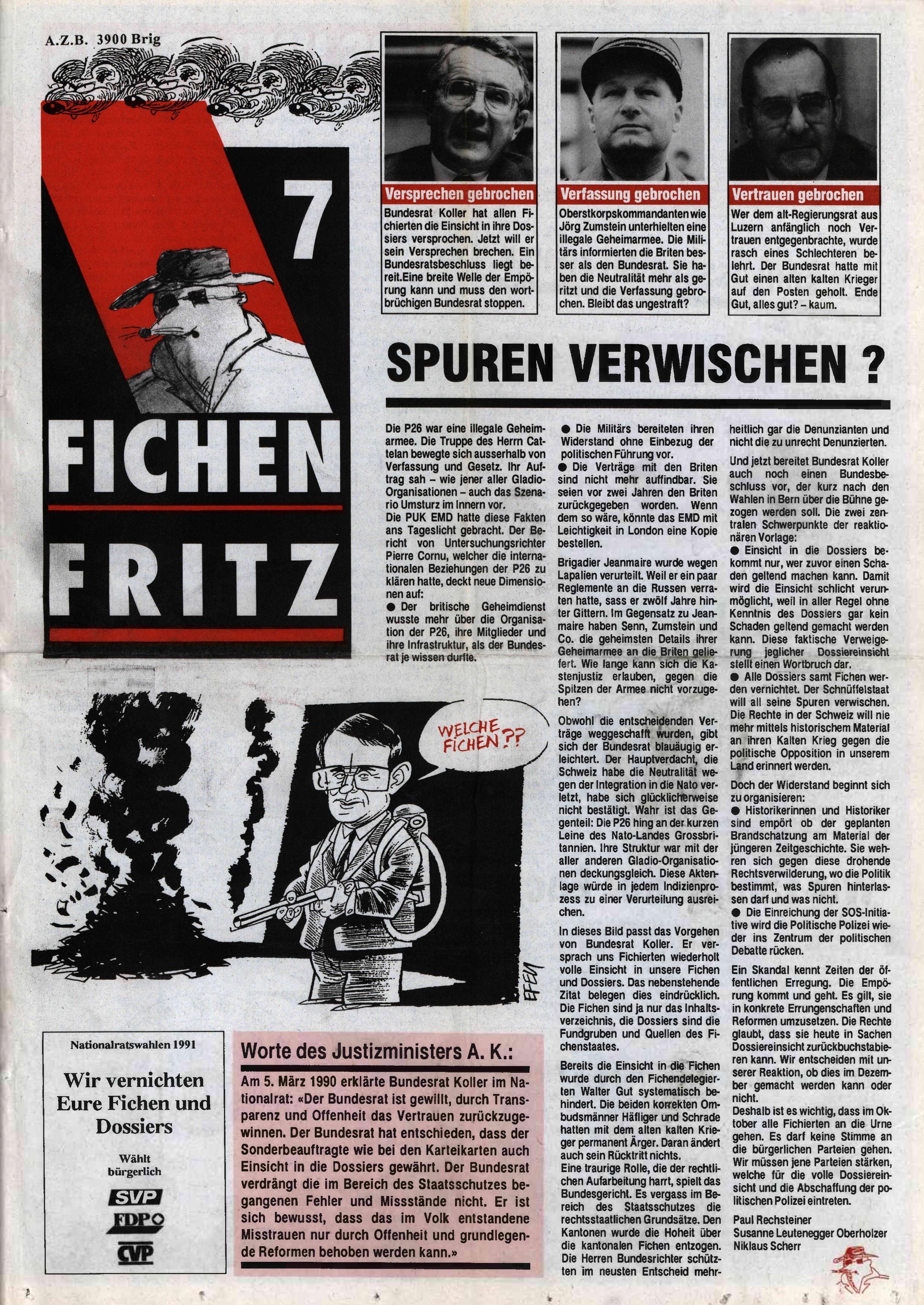 FICHEN FRITZ NR. 7 - SEITE 1