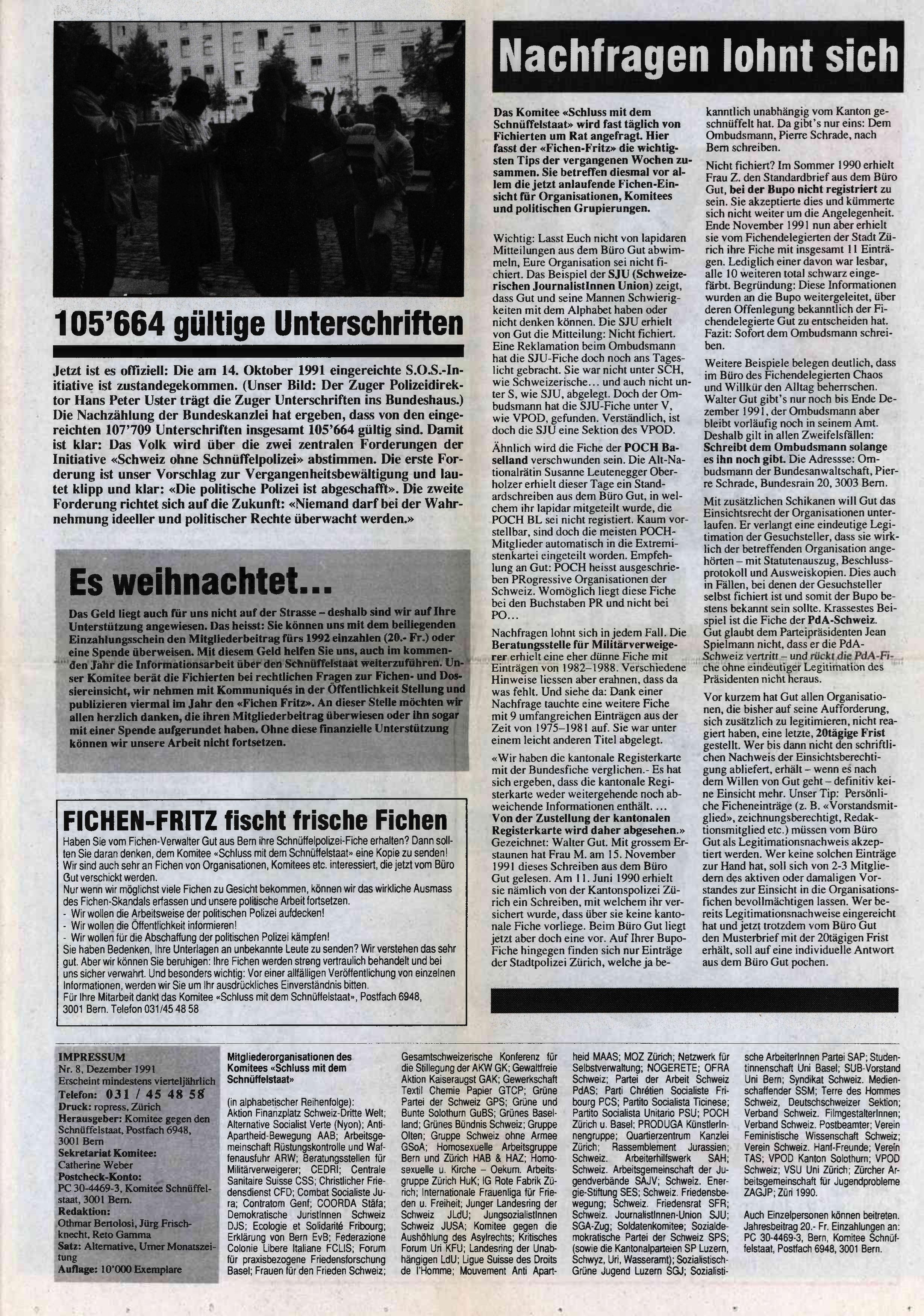 FICHEN FRITZ NR. 8 - SEIETE 2