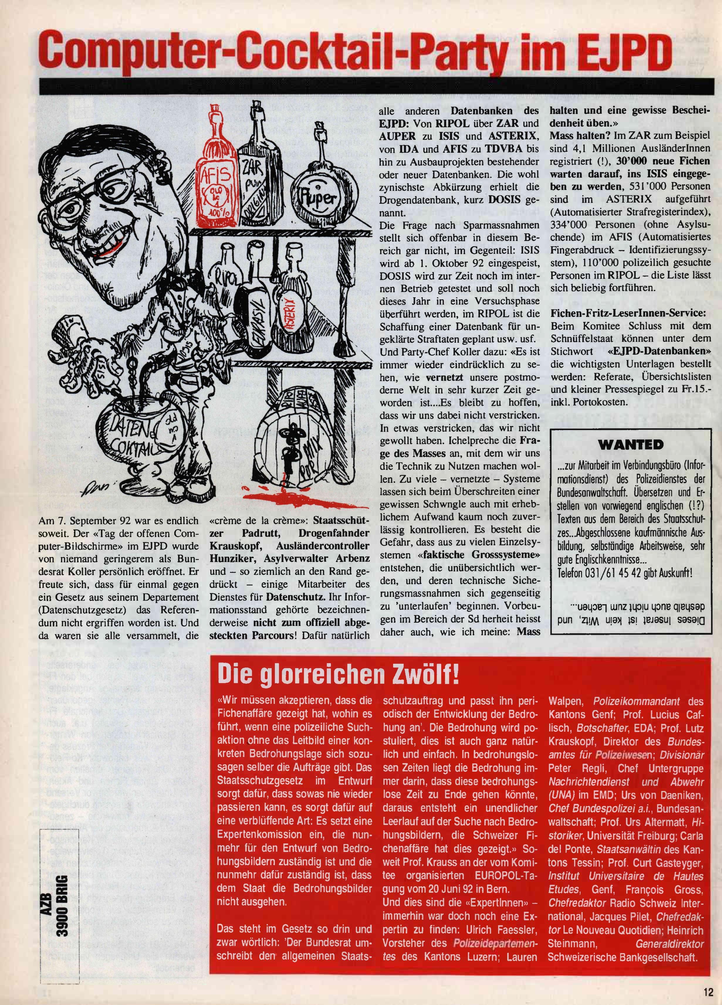 FICHEN FRITZ NR. 11 - SEITE 12