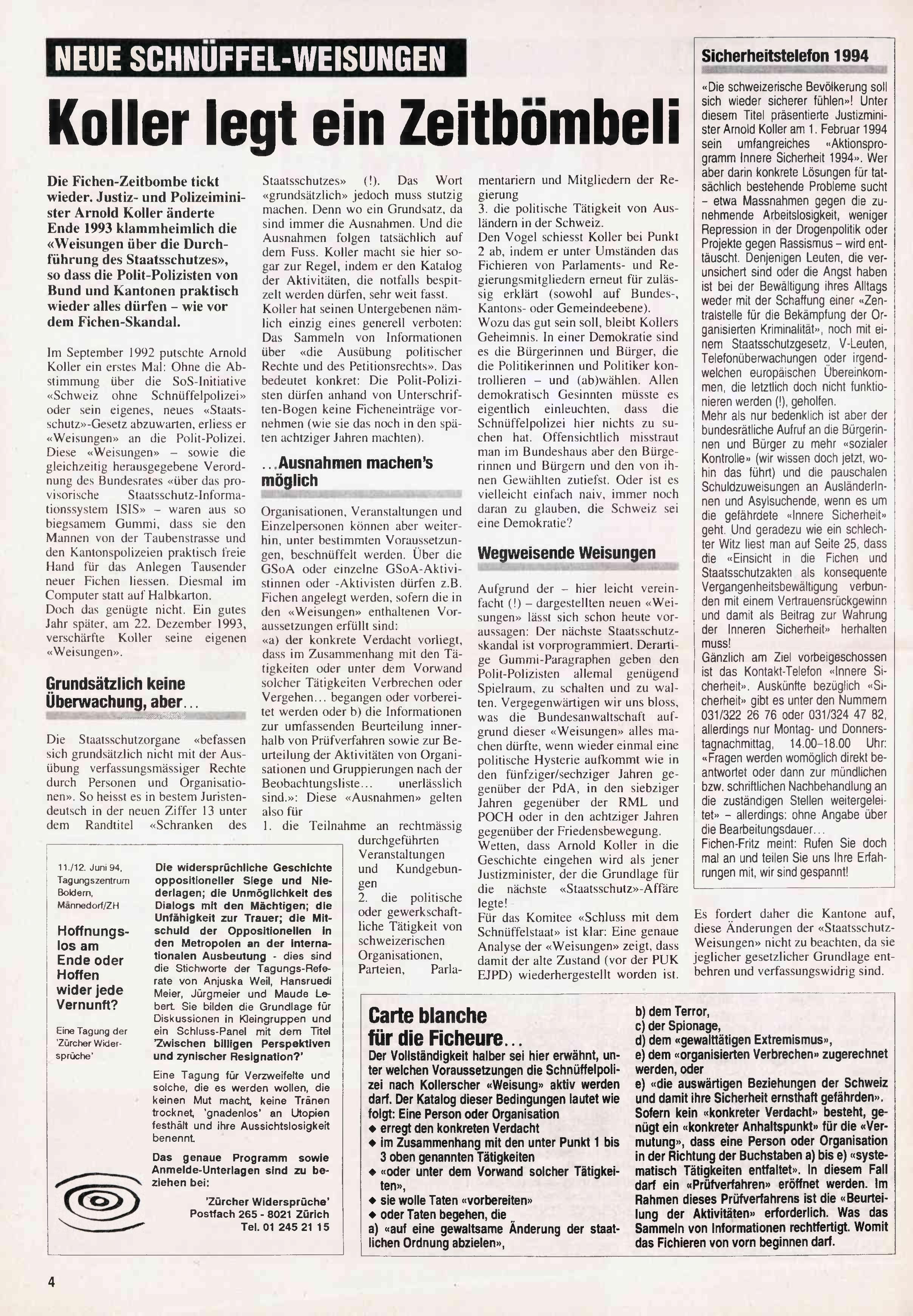 FICHEN FRITZ NR. 16 - SEITE 4