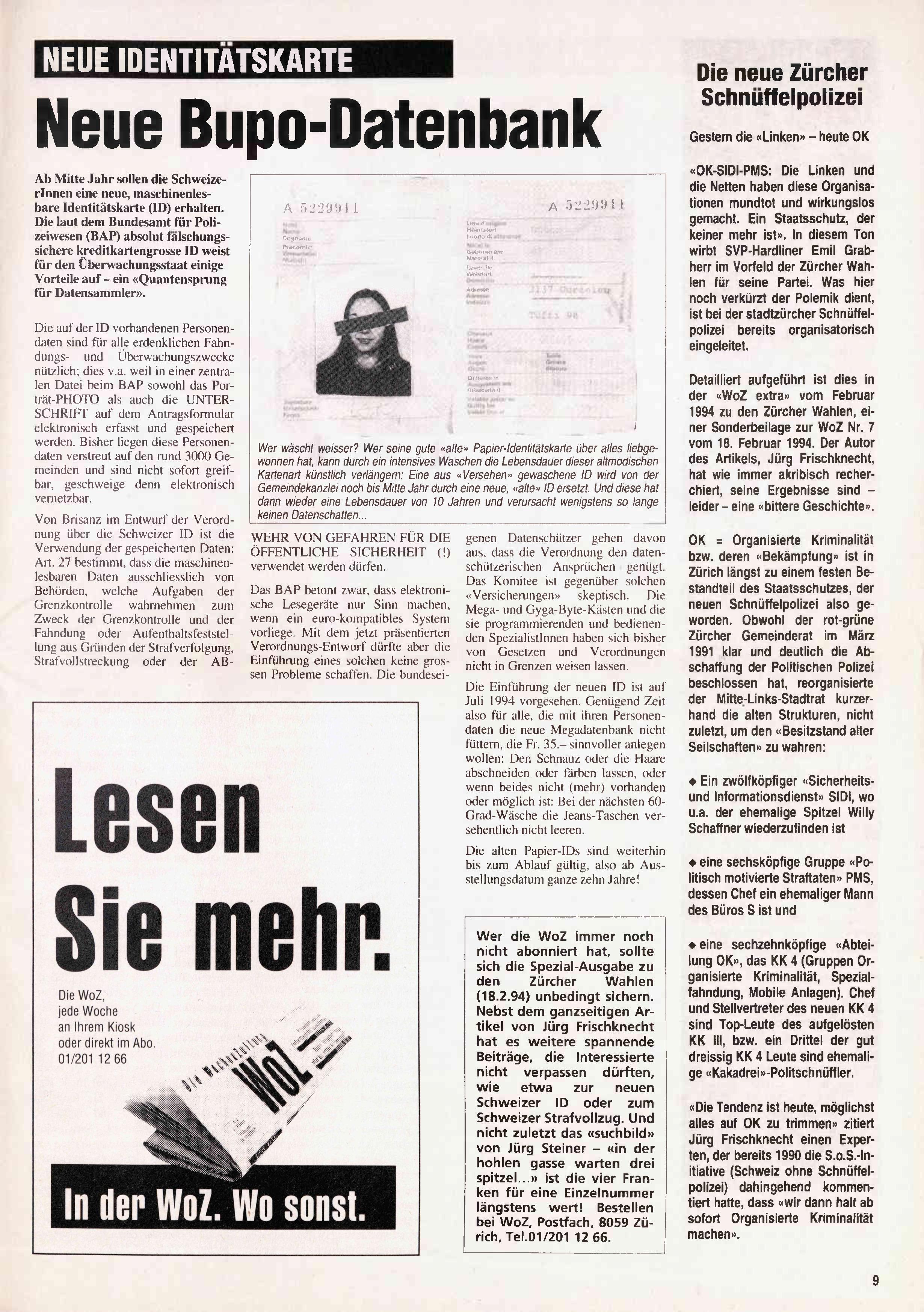 FICHEN FRITZ NR. 16 - SEITE 9