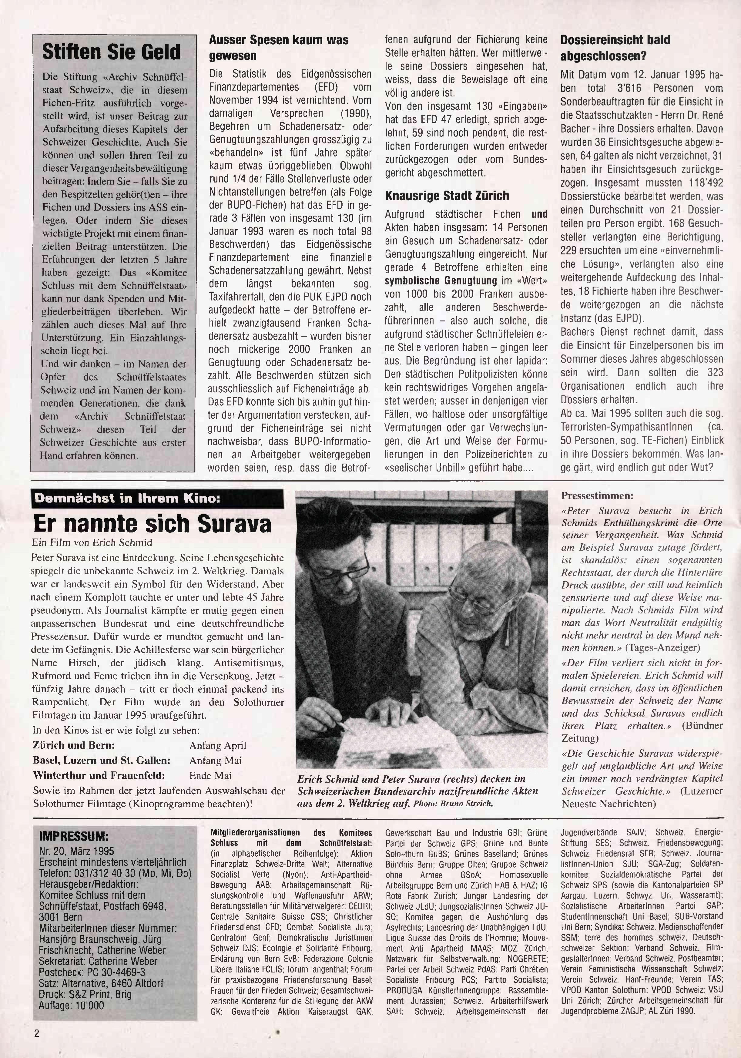 FICHEN FRITZ NR. 20 - SEITE 2