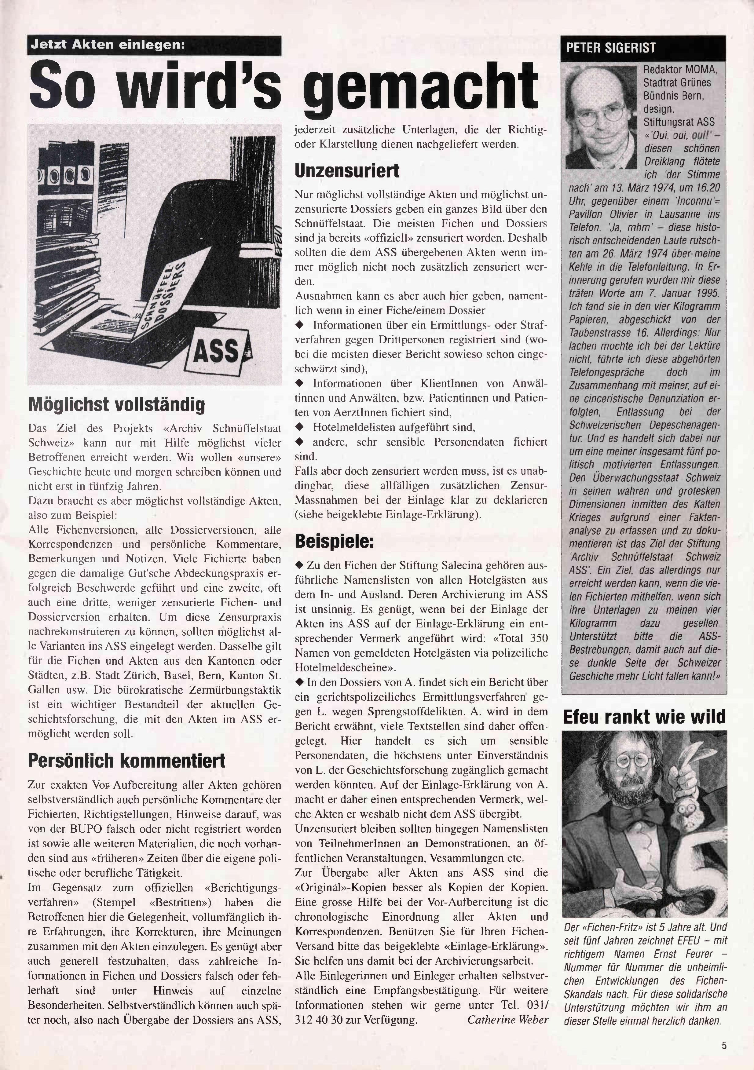 FICHEN FRITZ NR. 20 - SEITE 5