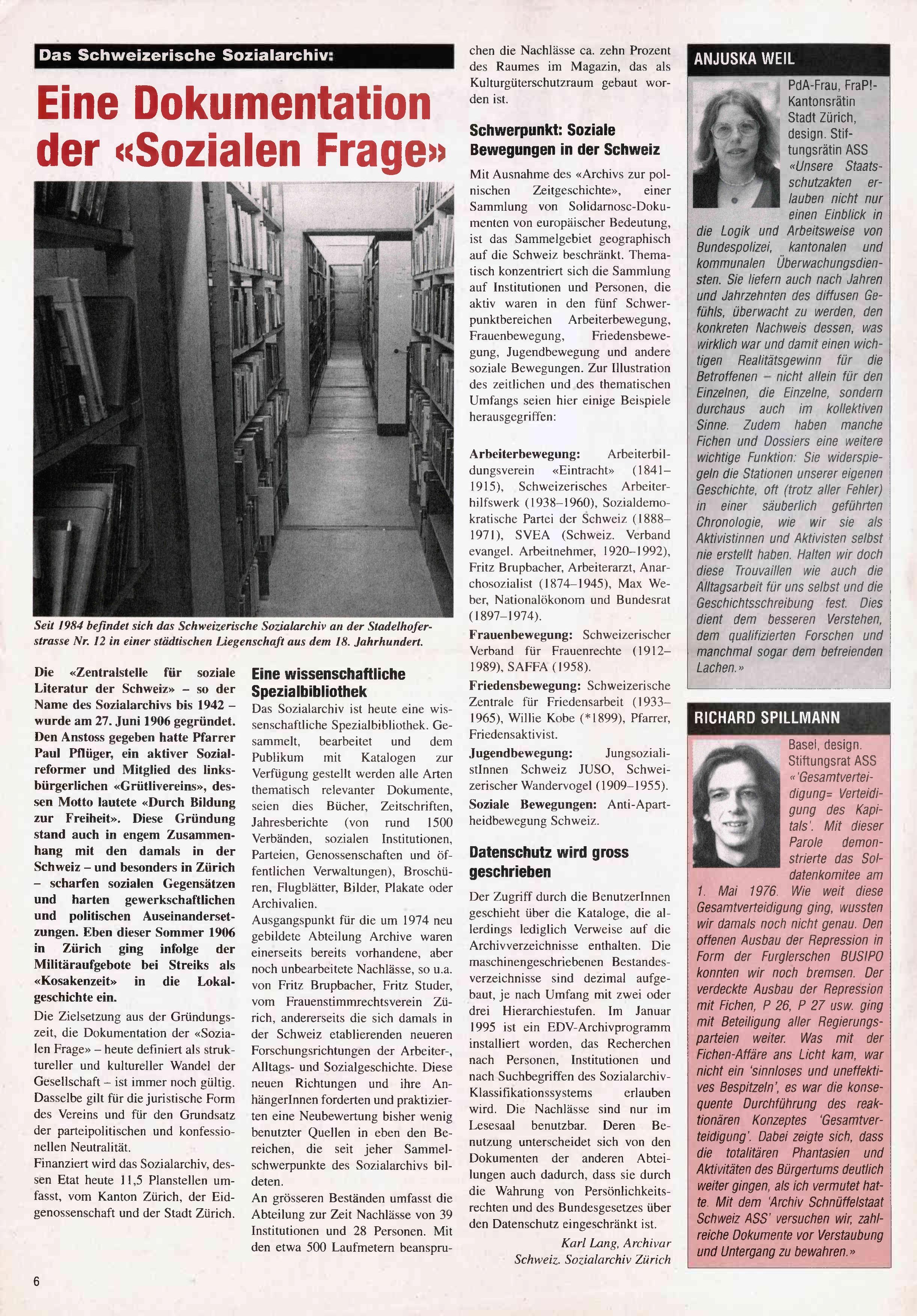 FICHEN FRITZ NR. 20 - SEITE 6