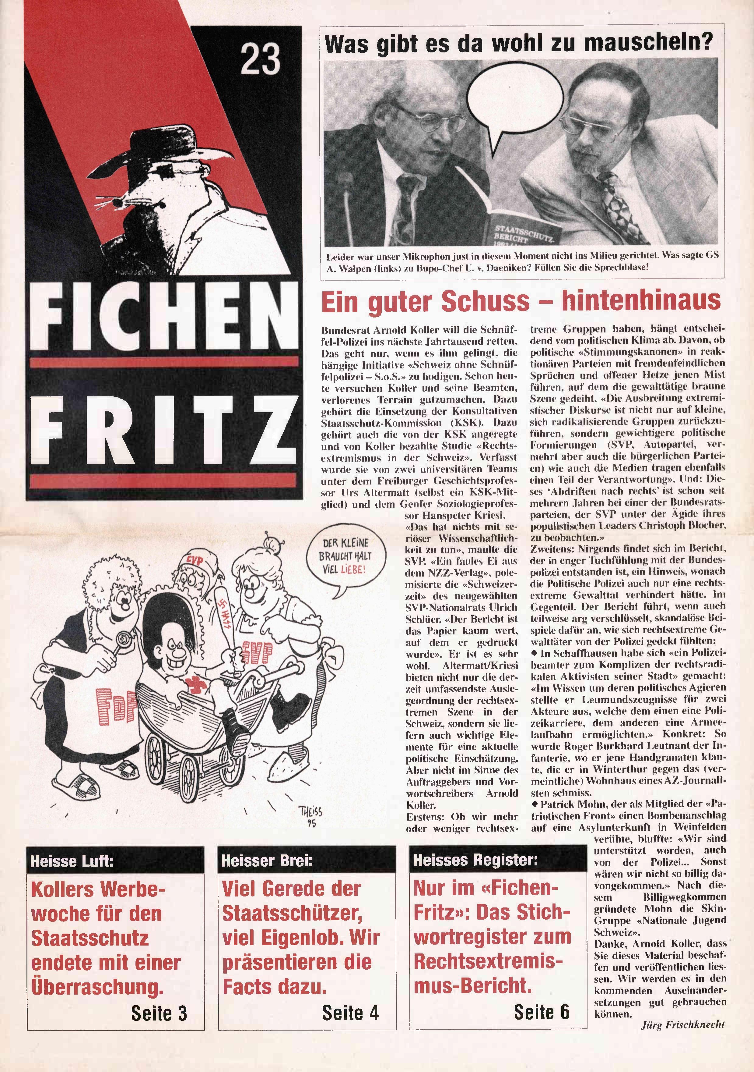 FICHEN FRITZ NR. 23 - SEITE 1