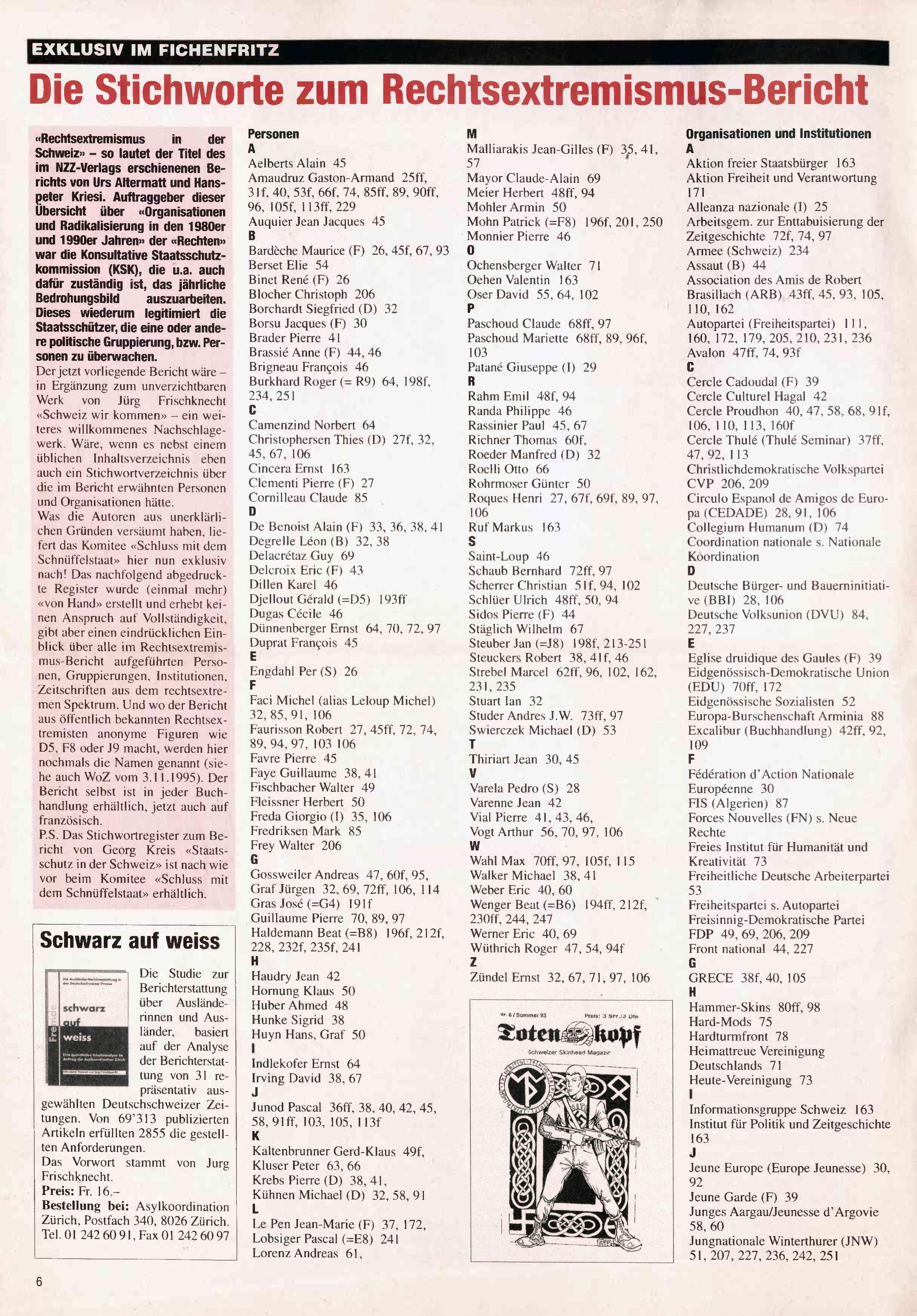 FICHEN FRITZ NR. 23 - SEITE 6