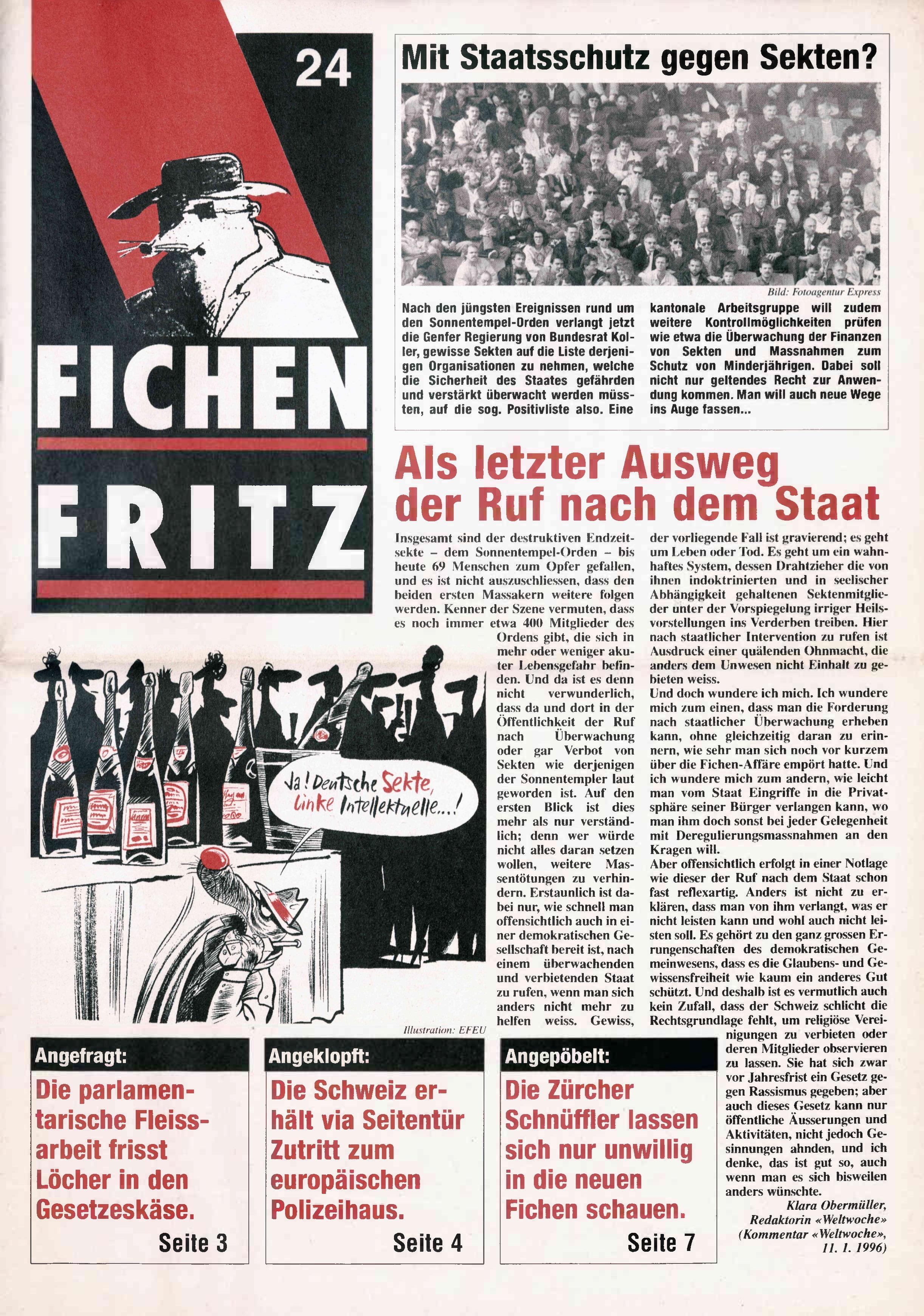 FICHEN FRITZ NR. 24 - SEITE 1