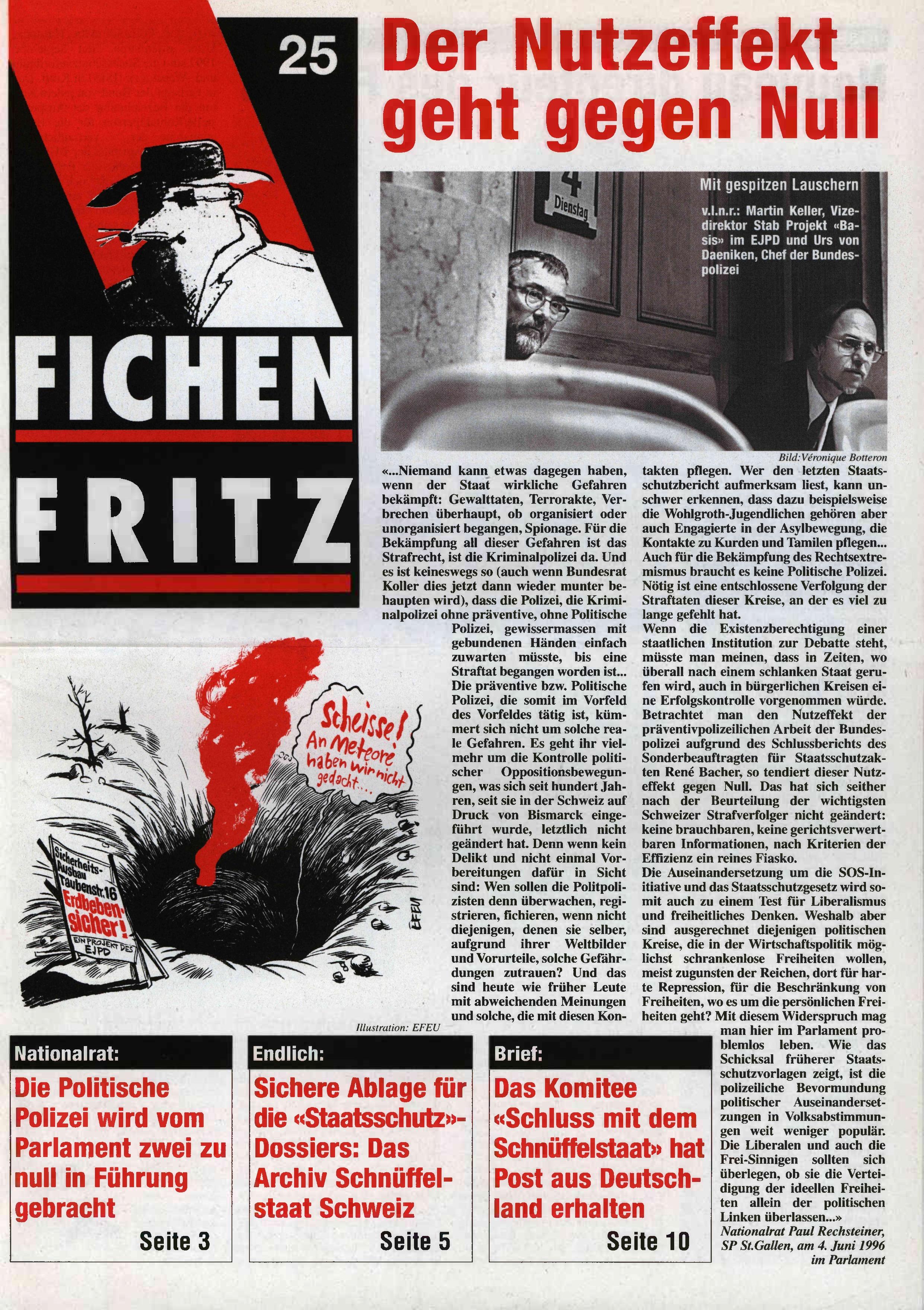 FICHEN FRITZ NR. 25 - SEITE 1