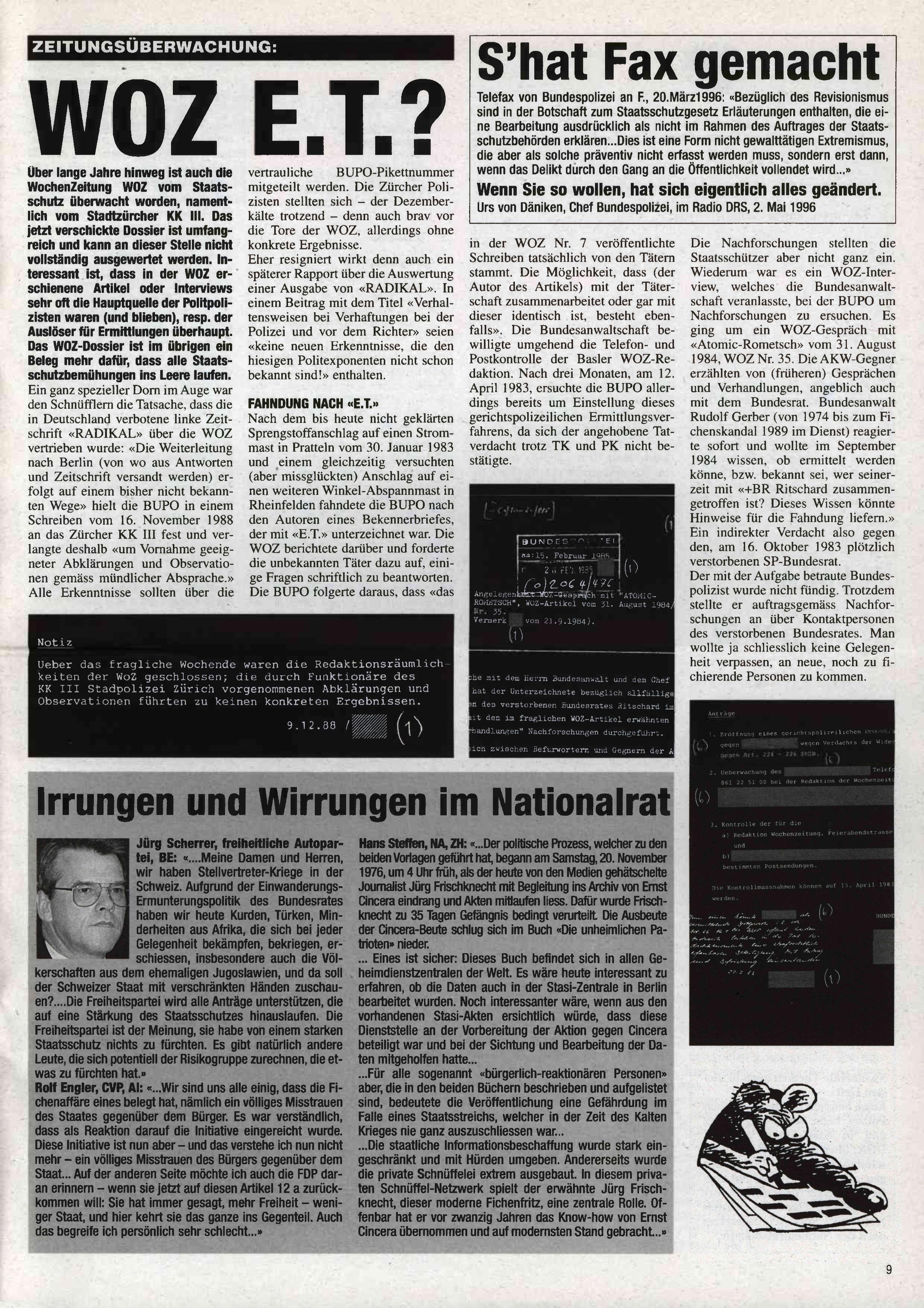 FICHEN FRITZ NR. 25 - SEITE 9