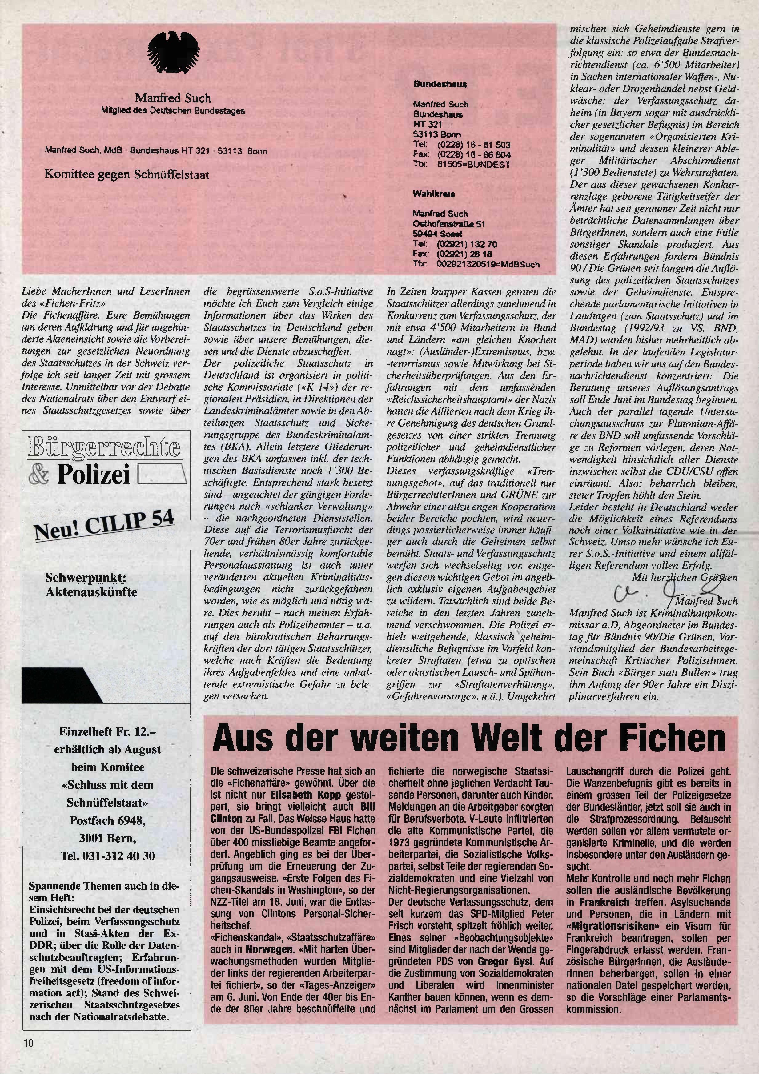 FICHEN FRITZ NR. 25 - SEITE 10