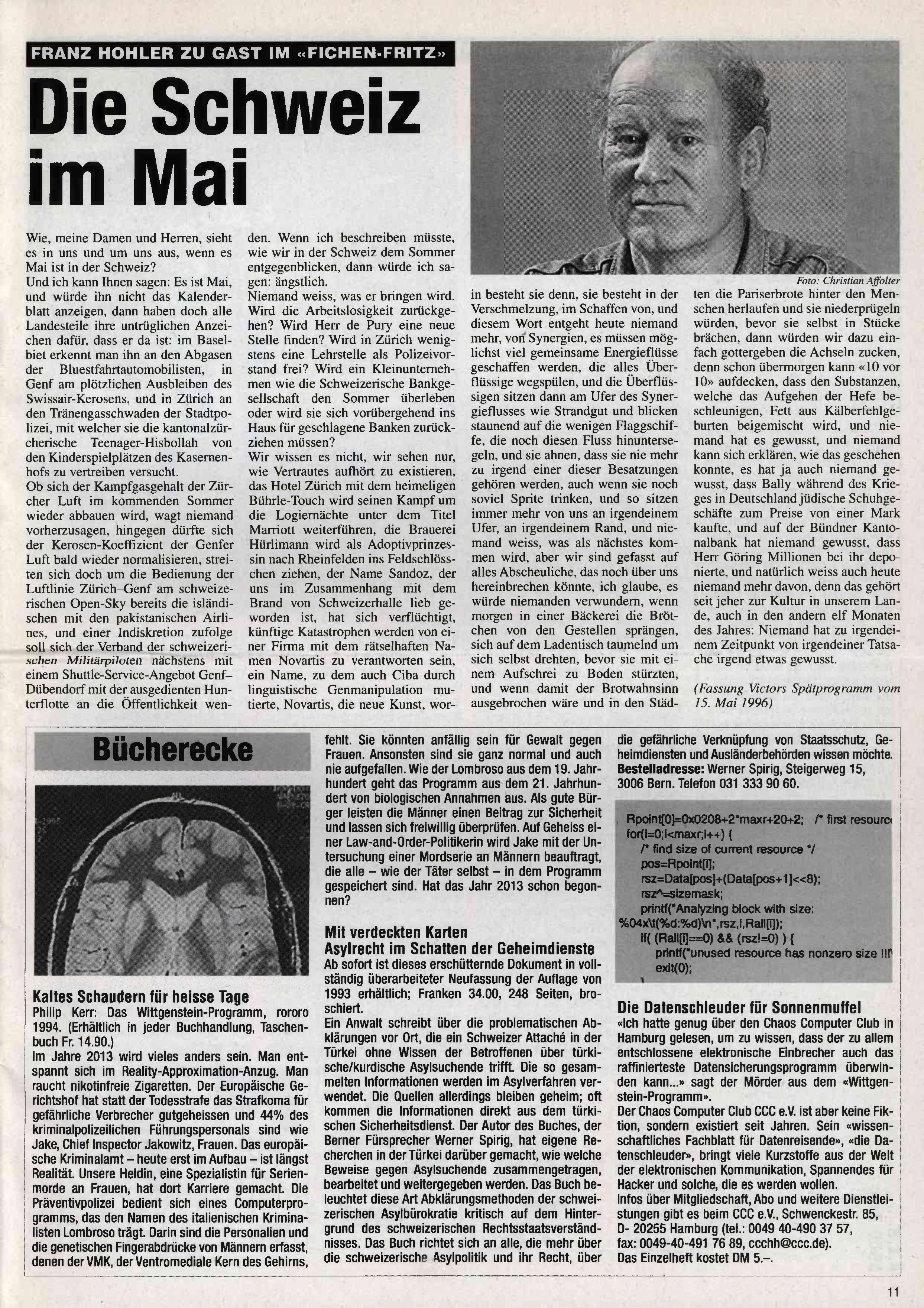 FICHEN FRITZ NR. 25 - SEITE 11