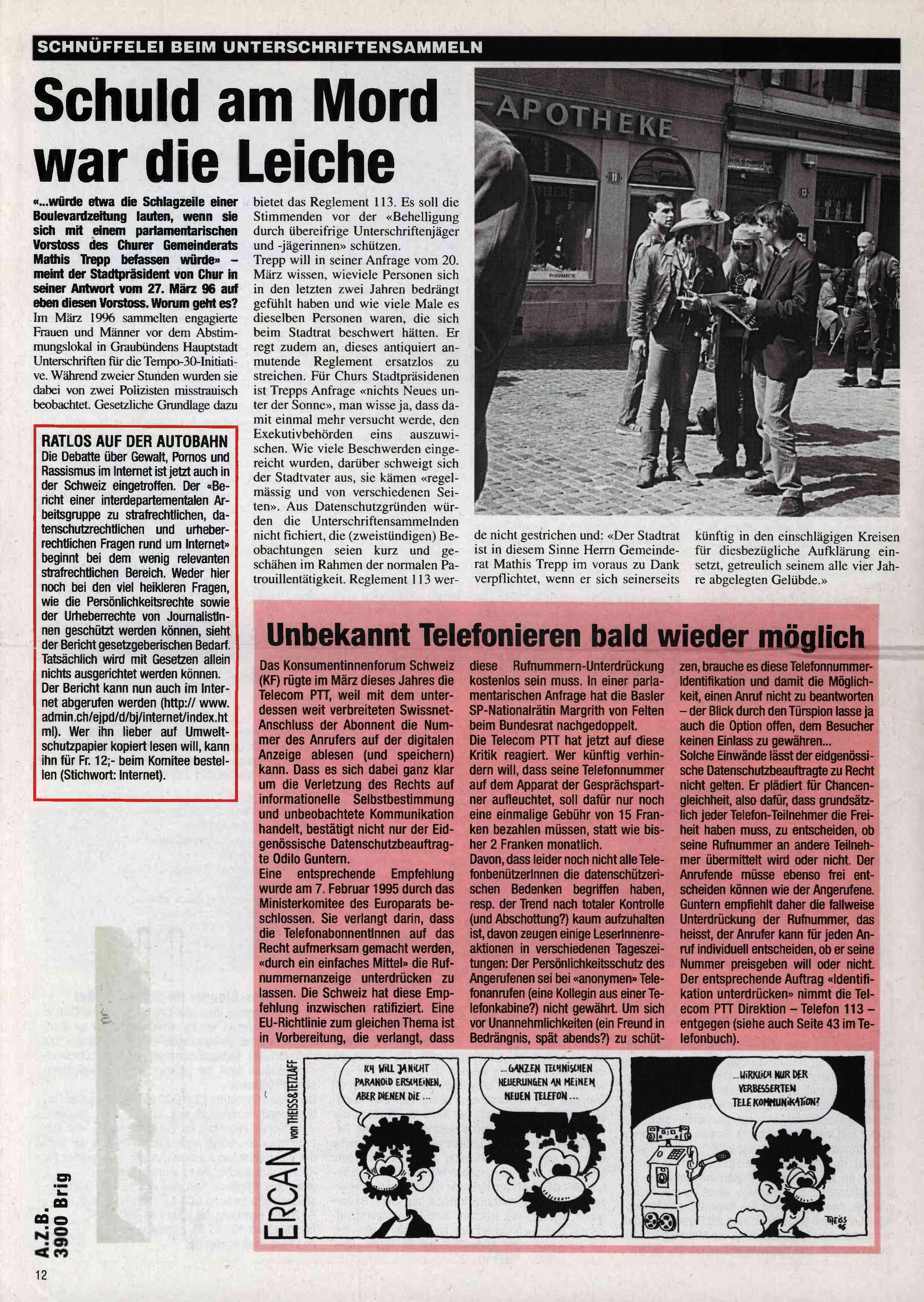 FICHEN FRITZ NR. 25 - SEITE 12