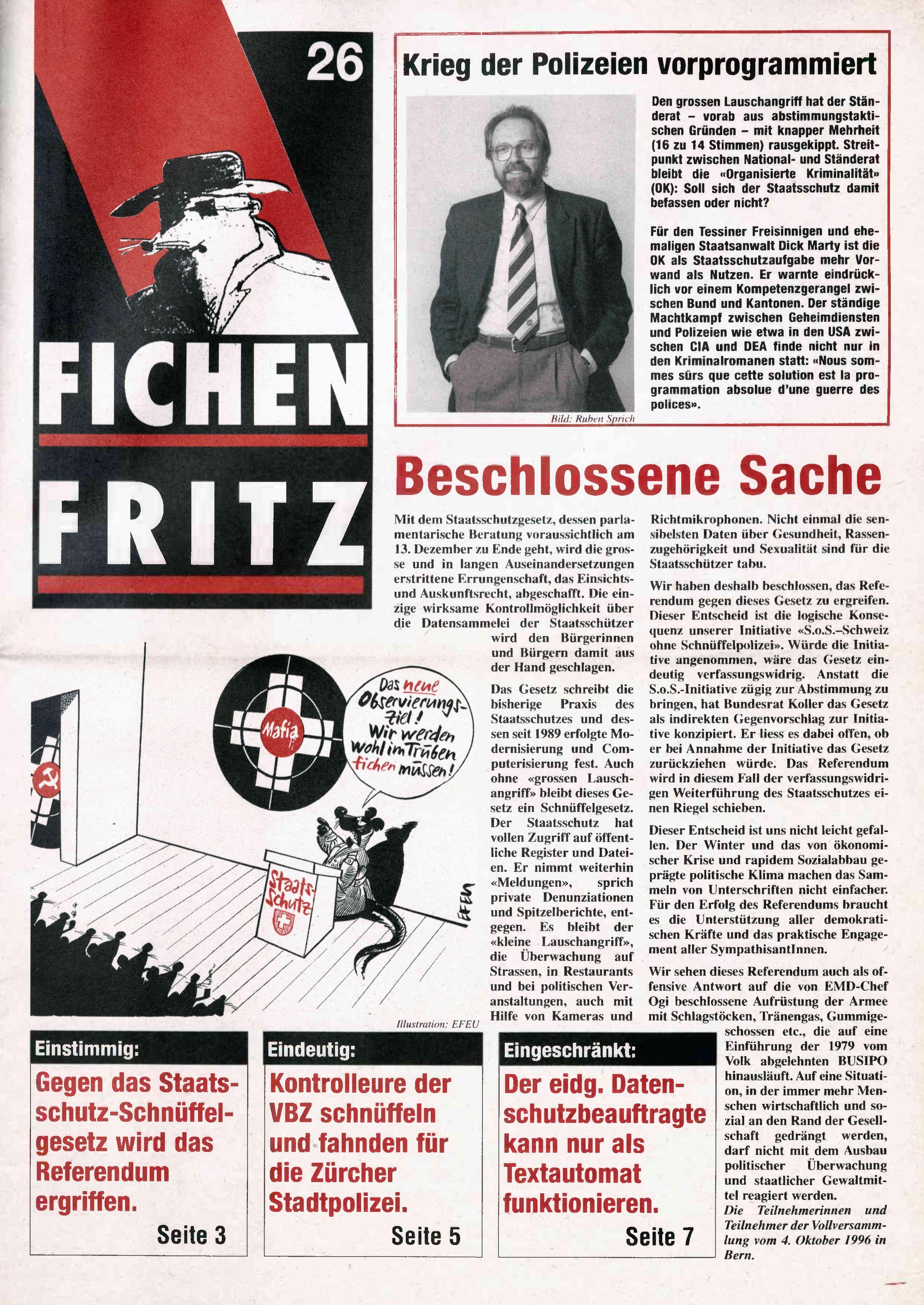 FICHEN FRITZ NR. 26 - SEITE 1