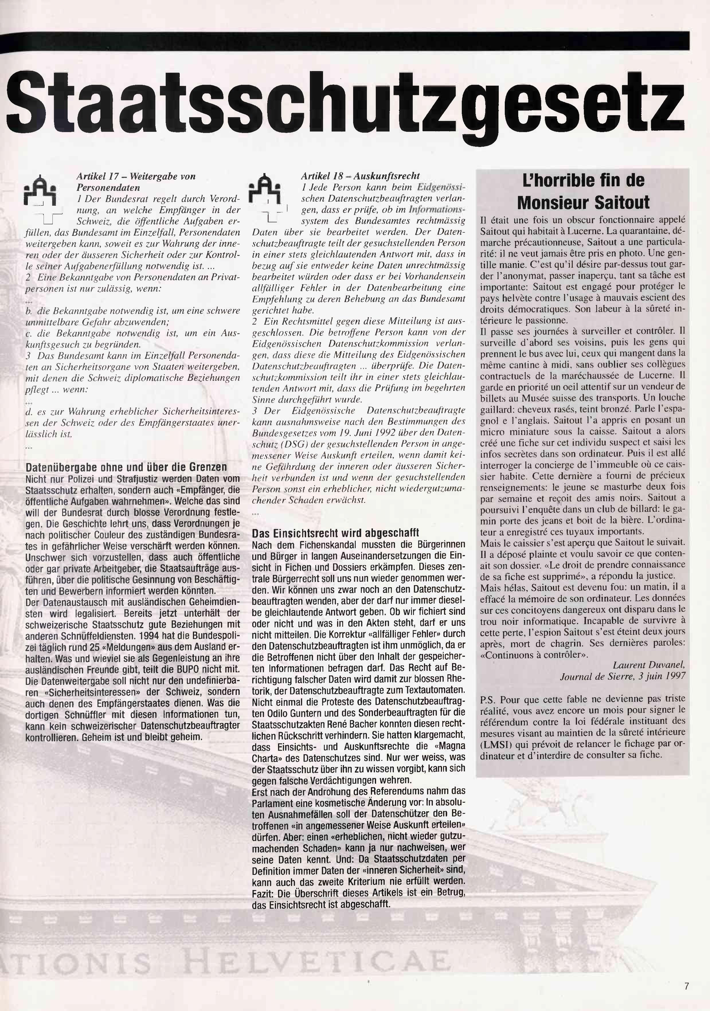 FICHEN FRITZ NR. 29 - SEITE 7