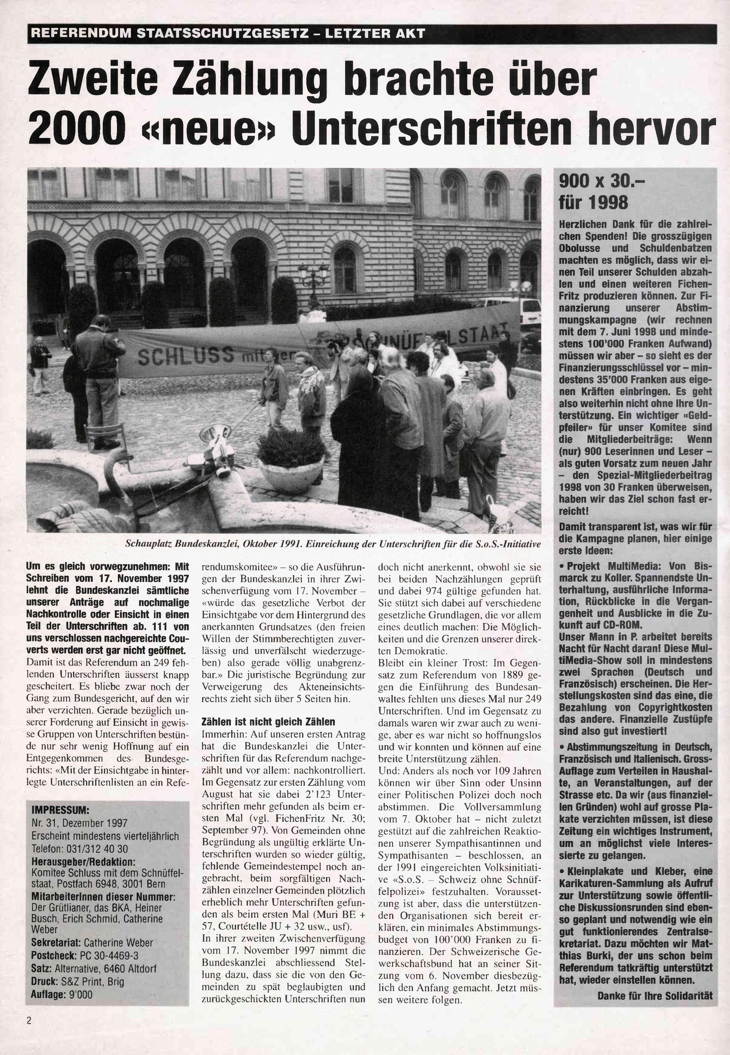 FICHEN FRITZ NR. 31 - SEITE 2