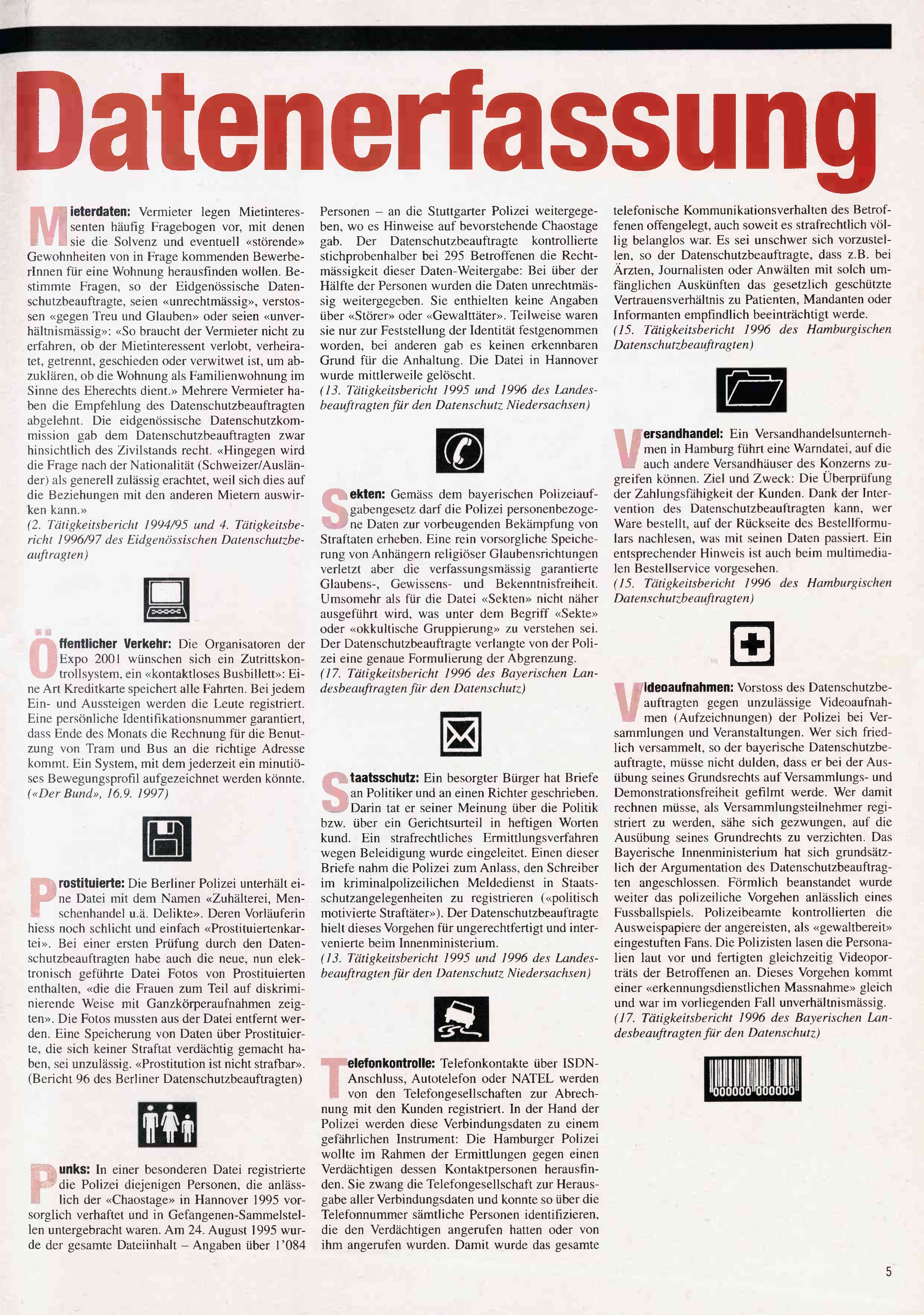 FICHEN FRITZ NR. 31 - SEITE 5