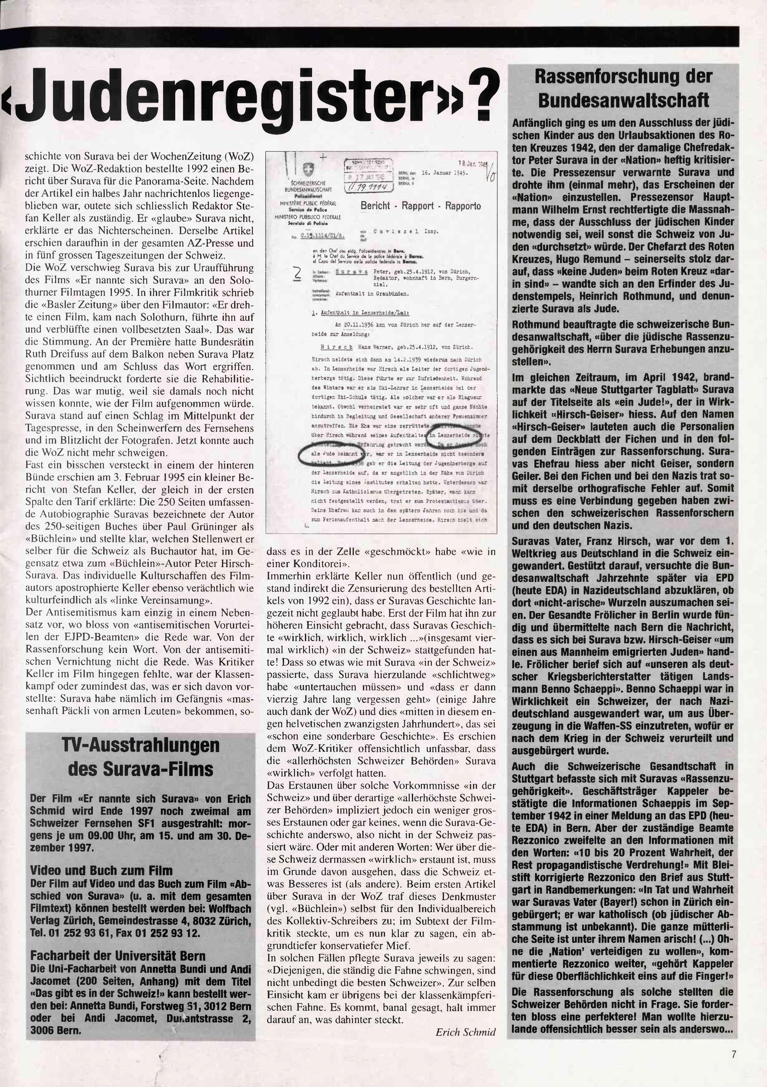 FICHEN FRITZ NR. 31 - SEITE 7