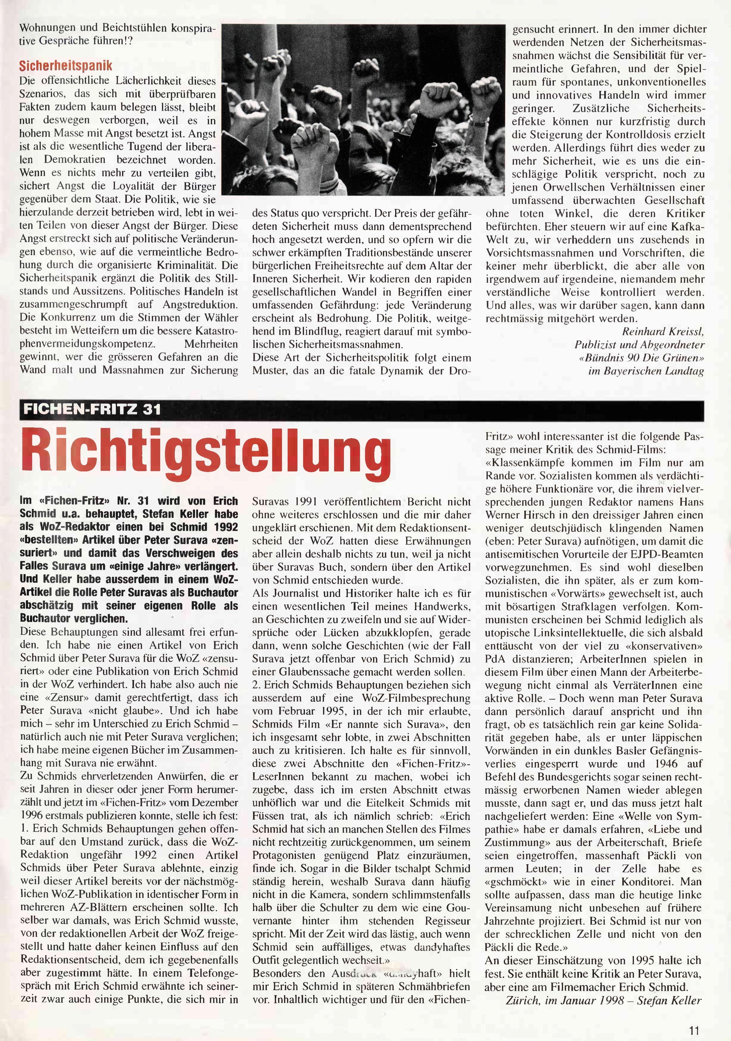 FICHEN FRITZ NR. 32 - SEITE 11
